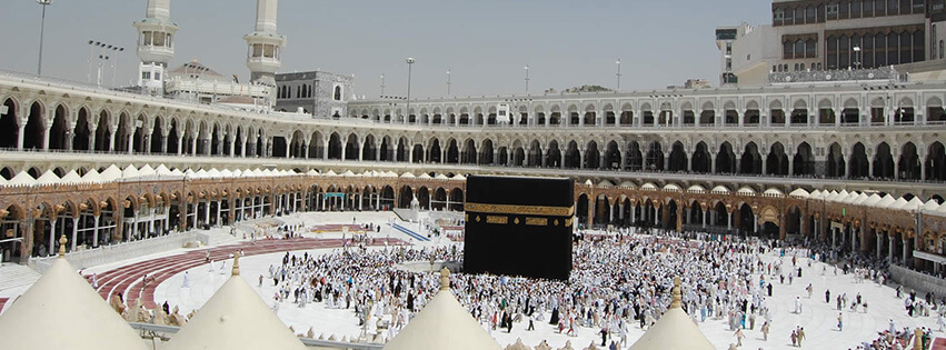 De vader van Maryam is op 'Oemrah gegaan