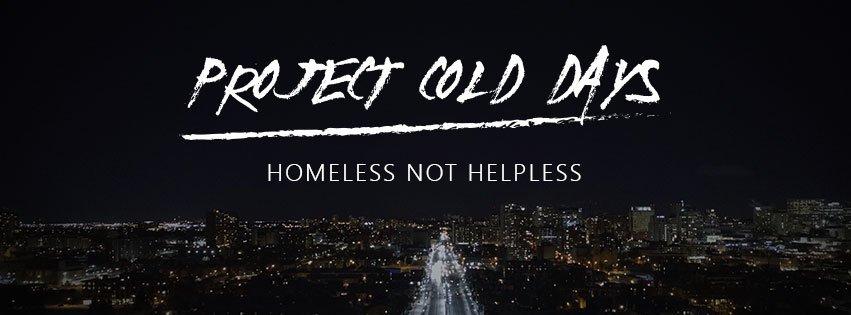Verblijd de daklozen ❤