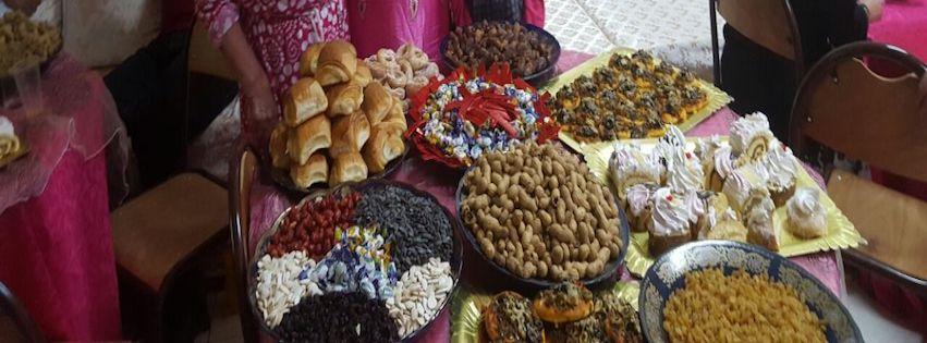 Feestje voor de bejaarden in al Hoceima