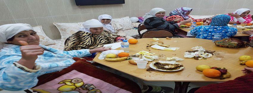 Bejaardenhuis feest in Al Hoceima